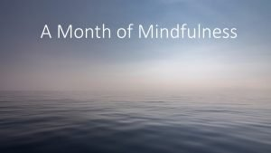 month_of_mindfulness